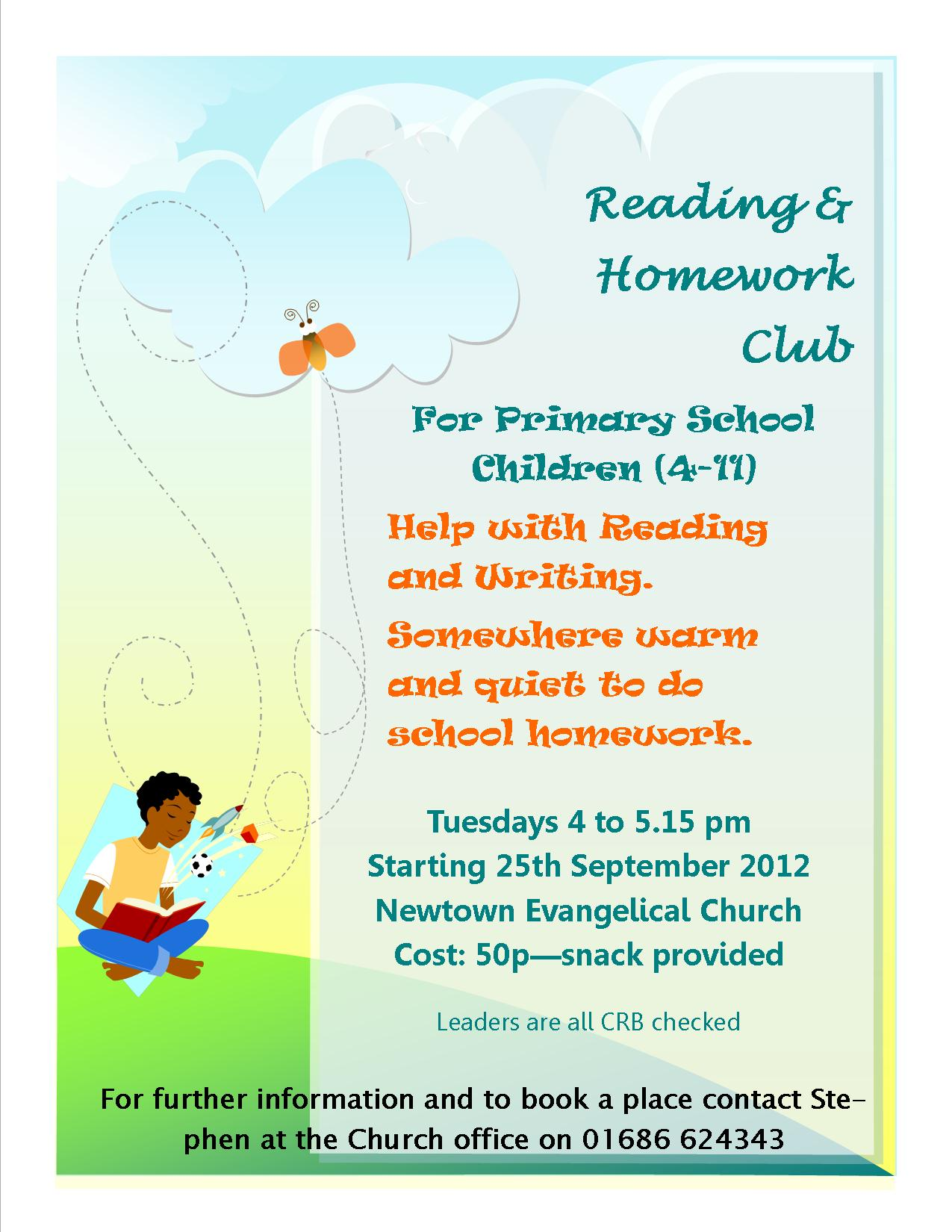 Homework Club/Help in After School Programs: How to make this time productive