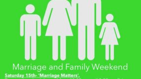 'Family Matters' Weekend